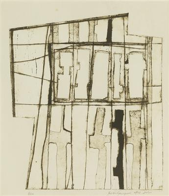 MILDRED THOMPSON (1935 - 2003) Construction 28.