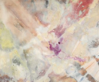 SAM GILLIAM (1933 -   ) What Did You In London Town?.
