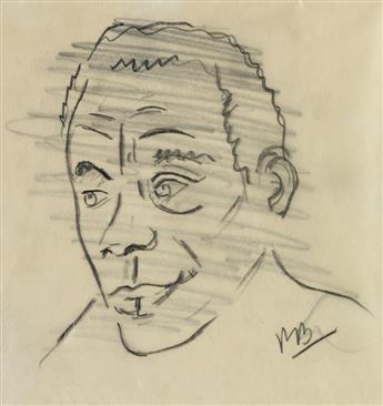 ROMARE BEARDEN (1911 - 1988) James Baldwin.