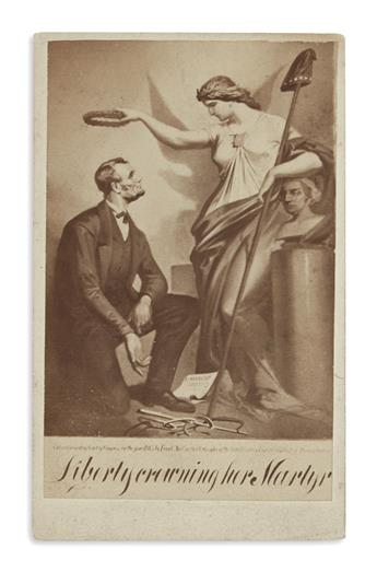 (PHOTOGRAPHY.) Liberty Crowning her Martyr.
