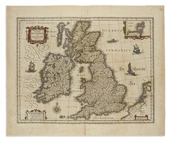 BLAEU, WILLEM. Magnae Britanniae et Hiberniae Tabula.
