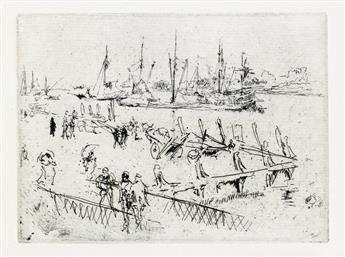JAMES A. M. WHISTLER Little Dordrecht.