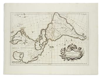 (AMERICA.) America Septentrionalis et Meridionalis - T. XXXV.