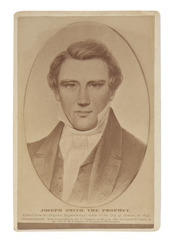 (MORMONS.) Joseph Smith, the Prophet.
