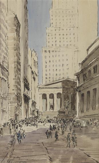 JAMES McBEY Sub-Treasury Building, New York