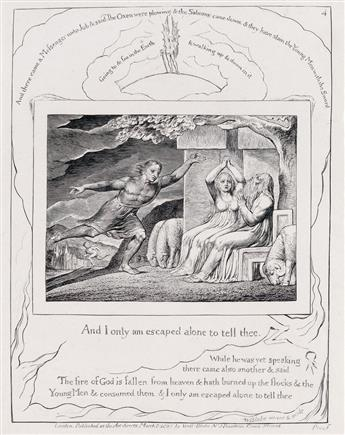 WILLIAM BLAKE And I Only am Escaped Alone to Tell Thee.