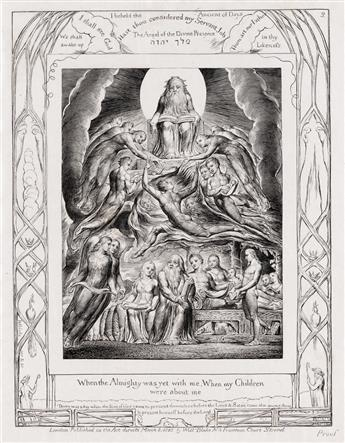 WILLIAM BLAKE When the Almighty Was Yet with Me, When My Children Were About Me.
