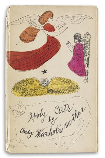 WARHOL, ANDY / CONTEMPORARY ART. Holy Cats by Andy Warhols Mother.