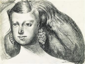 MANOLO VALDÉS Retrato de una Niña.