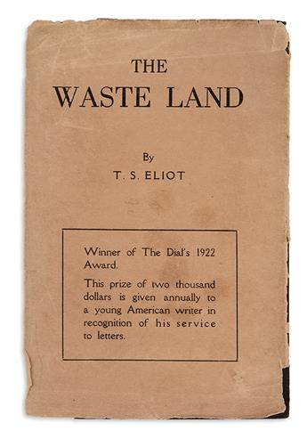 ELIOT, T.S. The Waste Land.