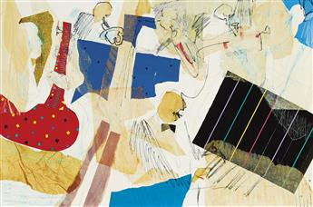 PHOEBE BEASLEY (1943 -   ) Big Band Time #1 & #2.