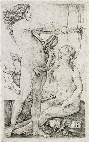 ALBRECHT DÜRER Apollo and Diana.