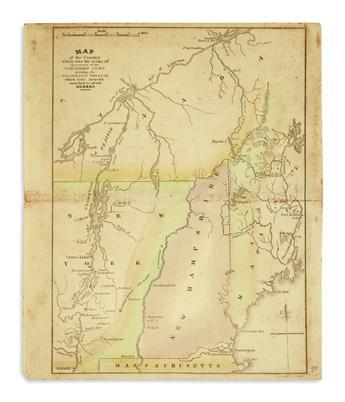 (MAINE.) Group of manuscripts and ephemera relating to Maine.
