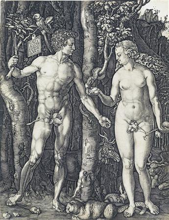 JOHANNES WIERICX (after Dürer) Adam and Eve