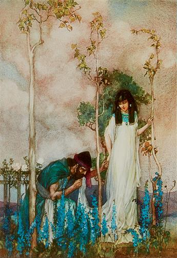 (BIBLE.) FLINT, WILLIAM RUSSELL.  The Song of Songs, which is Solomons.