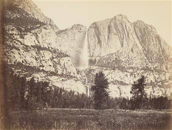 CARLETON E. WATKINS (1829-1916) The Great Yo Semite Falls.