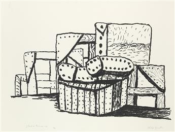 PHILIP GUSTON Studio Forms.