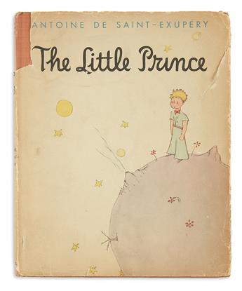 (CHILDRENS LITERATURE.) SAINT-EXUPERY, ANTOINE de. The Little Prince.