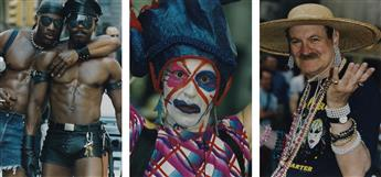(GAY PRIDE PARADE--JUNE 97 & 98)  Album with 342 photographs chronicling the eclectically dressed (or boldly undressed) and proud par