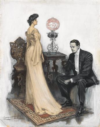 CLARENCE F. UNDERWOOD. She Arose and Stood Before Him Unabashed, Ardent, Eloquent, Astounded.