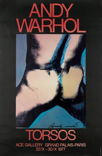 ANDY WARHOL (after) Torsos