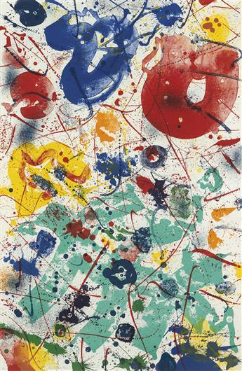 SAM FRANCIS Untitled.