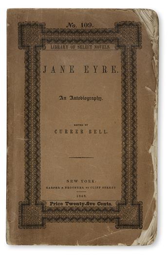 [BRONTË, CHARLOTTE.] Jane Eyre.