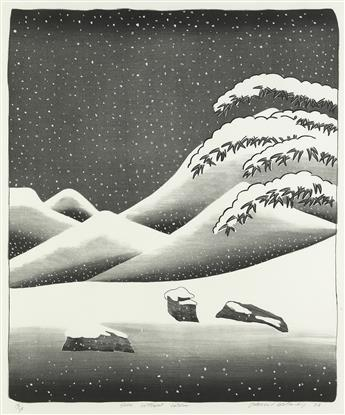 DAVID HOCKNEY Snow Without Colors.