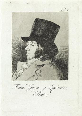 FRANCISCO JOSÉ DE GOYA Francisco Goya y Lucientes, Pintor.