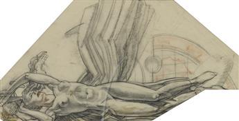 DEAN CORNWELL. Winged Figure.
