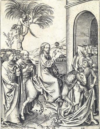MASTER AG Christ Entering Jerusalem.