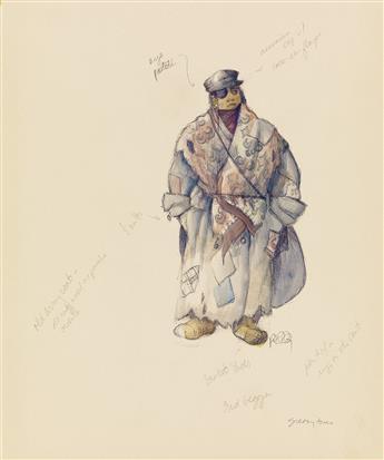 (THEATER / COSTUME) MARTIN PAKLEDINAZ. First and Third Beggar.