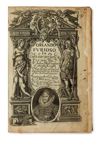 ARIOSTO, LODOVICO. Orlando Furioso In English Heroicall Verse.  1634