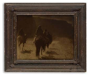 CURTIS, EDWARD S. (1868-1952) The Vanishing Race.
