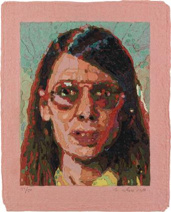 CHUCK CLOSE Susan (Butler Institute 50).