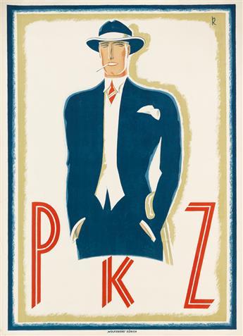 A. ERNST KRETSCHMANN (1897-1941). PKZ. 1924. 50x36 inches, 127x91 cm. Wolfsberg, Zurich.
