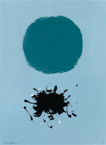 ADOLPH GOTTLIEB Black Splash.