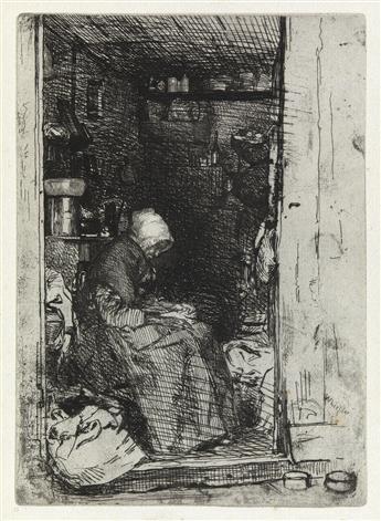JAMES A. M. WHISTLER La Vielle aux Loques.