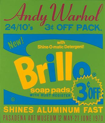 ANDY WARHOL (after) Brillo