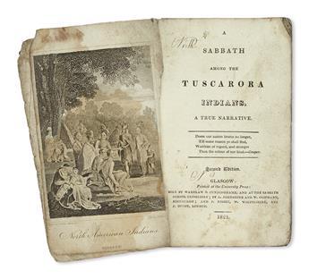(AMERICAN INDIANS.) [Duncan, John M.] A Sabbath among the Tuscarora Indians: A True Narrative.