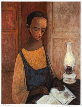 SAMELLA LEWIS (1924 -   ) Interior.
