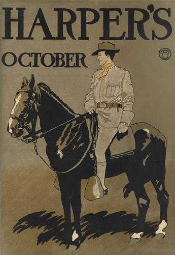 EDWARD PENFIELD (1866-1925). HARPERS OCTOBER. 1898. 17x11 inches, 43x30 cm.
