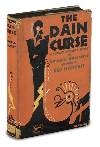 HAMMETT, DASHIELL. Dain Curse.