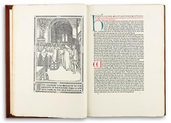 (ASHENDENE PRESS.) Malory, Sir Thomas; translator. The Noble and Joyous Book entytled Le Morte dArthur.