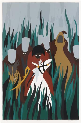 JACOB LAWRENCE (1917 - 2000) The Capture.