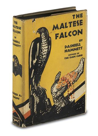 HAMMETT, DASHIELL. Maltese Falcon.