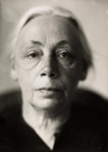JACOBI, LOTTE (1896-1990) Käthe Kollwitz.