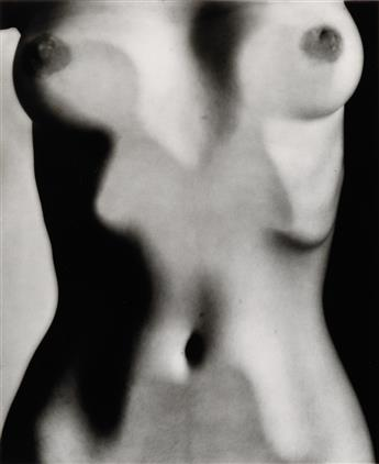 BERNHARD, RUTH (1905-2006) Abstract Torso.