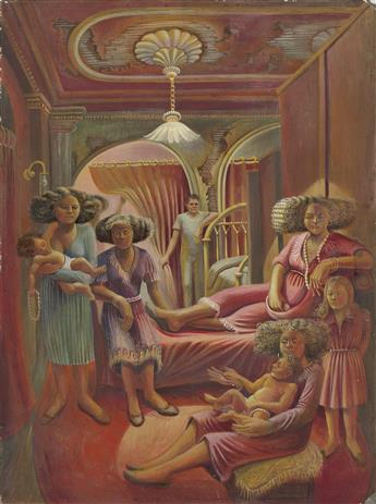 WILLIAM R. CHRISTOPHER Red Interior.