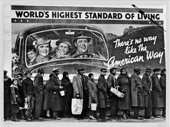 MARGARET BOURKE-WHITE (1904-1971) At the Time of the Louisville Flood, Kentucky.